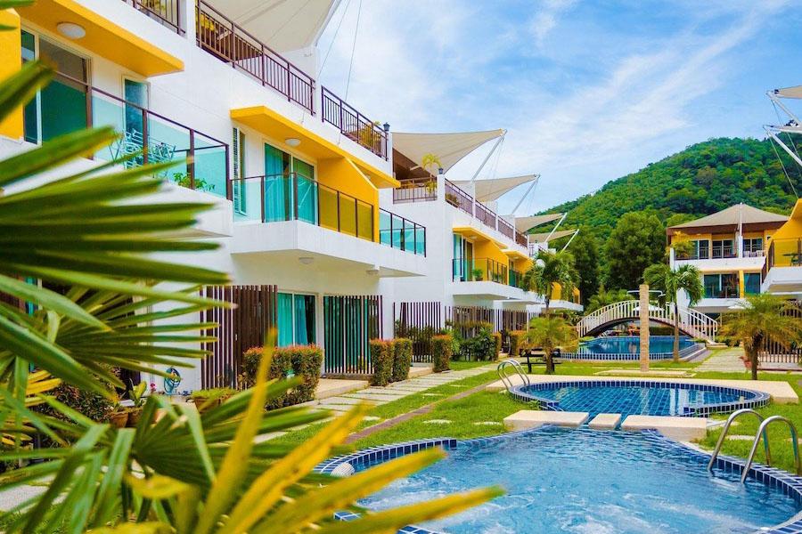 Таунхаус в AP Grand Residence рядом с пляжем Камала