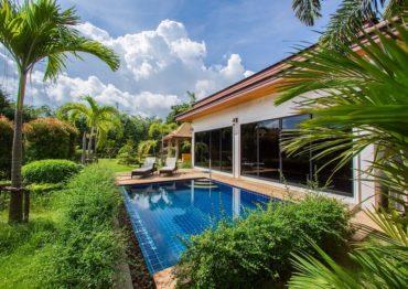 Вилла с большим садом и личным бассейном - H001