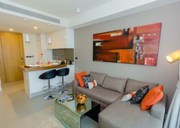 Апартаменты с одной спальней - B001