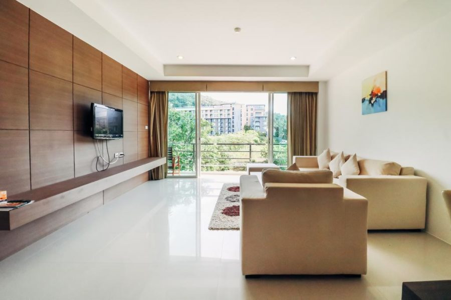 Bangtao Tropical Residence - гостиная