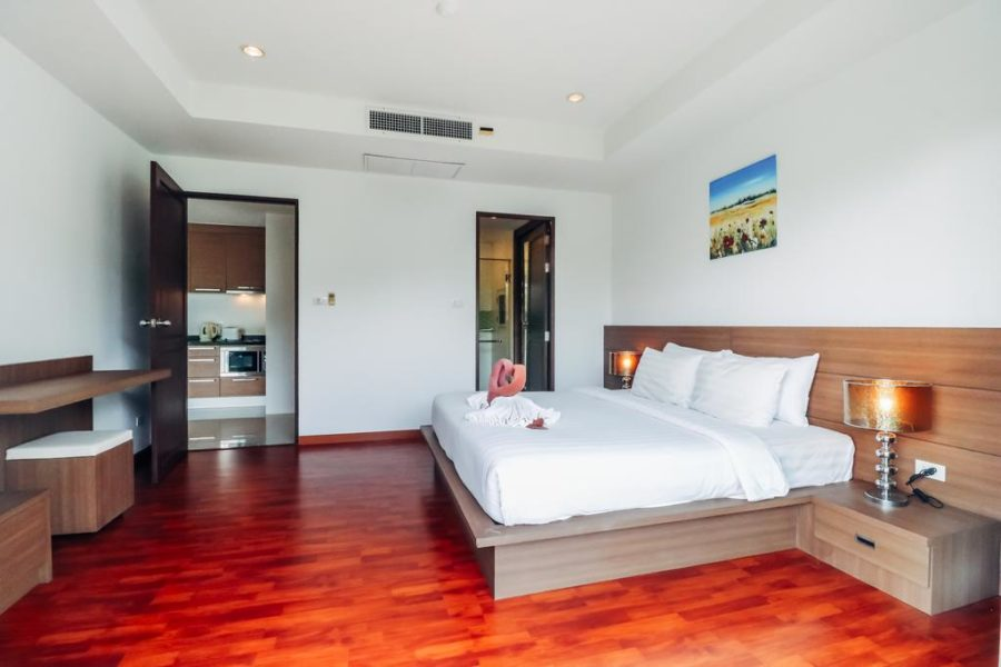 Bangtao Tropical Residence - спальня