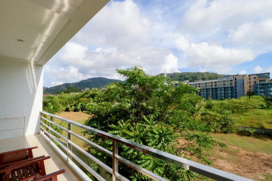 Bangtao Tropical Residence - вид с балкона