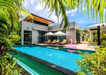 Вилла Modern Zen с тремя спальнями - Baan Bua
