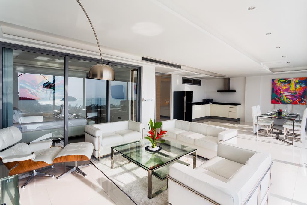 The View - гостиная в апартаментах