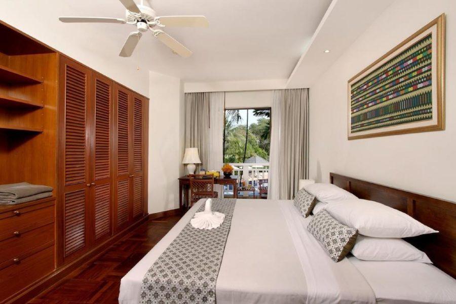 Спальня в апартаментах в отеле Allamanda