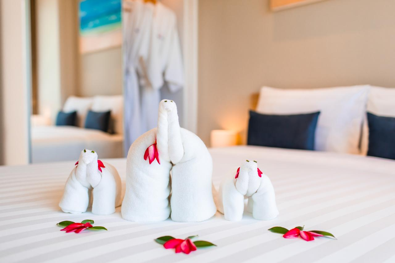 Diamond Resort Phuket - полотенца в виде слоников