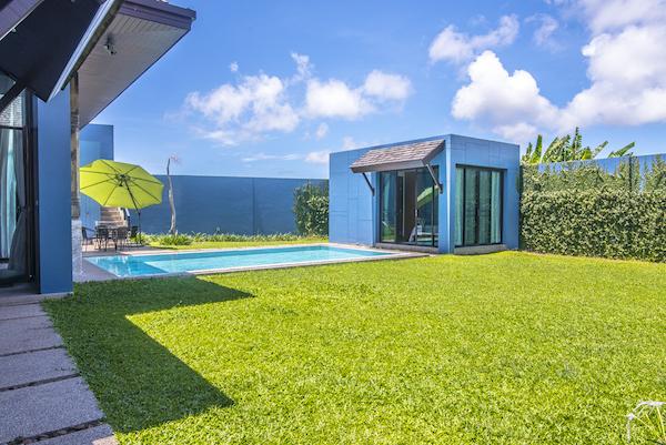 Зеленый участок на вилле Wings Phuket Villa (Two Villas)