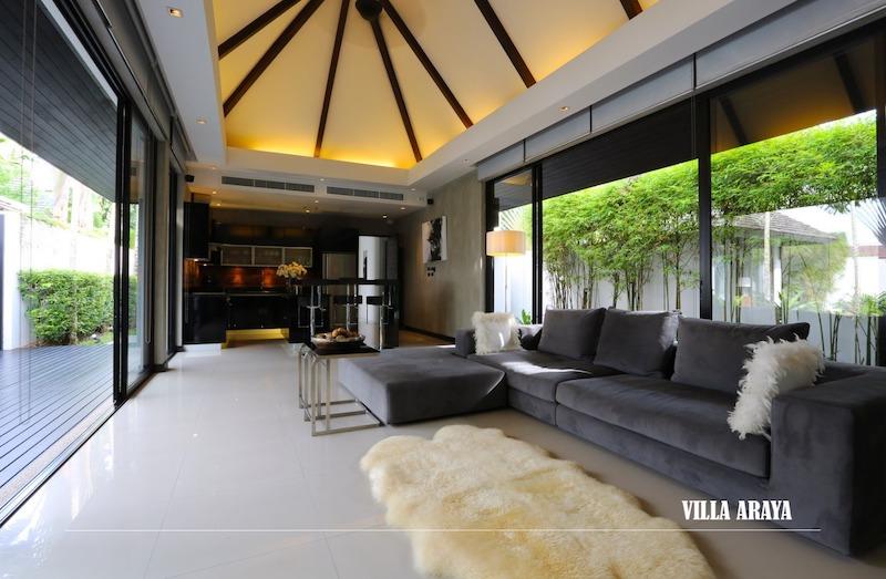Гостиная - Anchan Villas Phuket