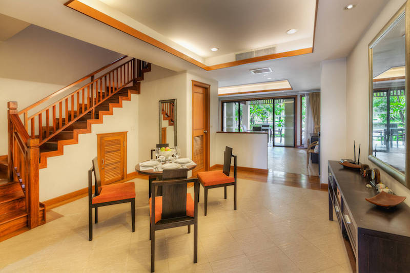 Столовая зона  -  Angsana Villas Phuket