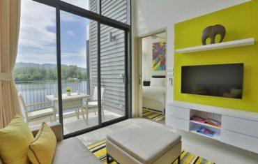 Апартаменты для двоих с видом на озеро в 4* Cassia