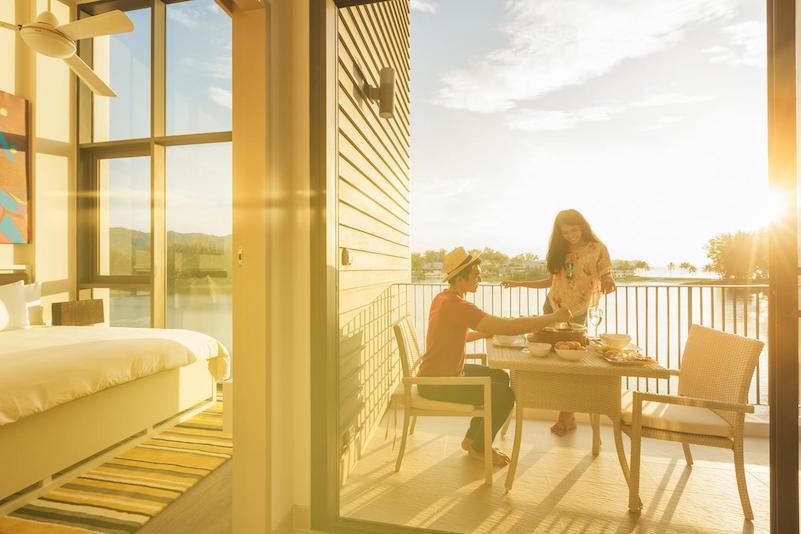 Солнце в отеле - Cassia Phuket