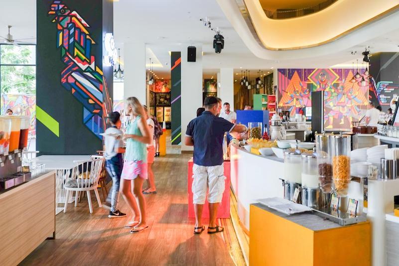 Лобби  - отель Cassia Phuket