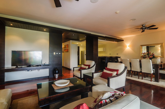Гостиная и столовая зона - Chom Tawan