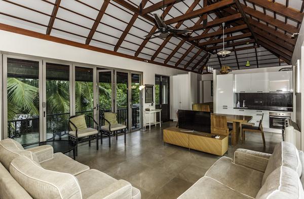 гостиная в Phureesala Villa