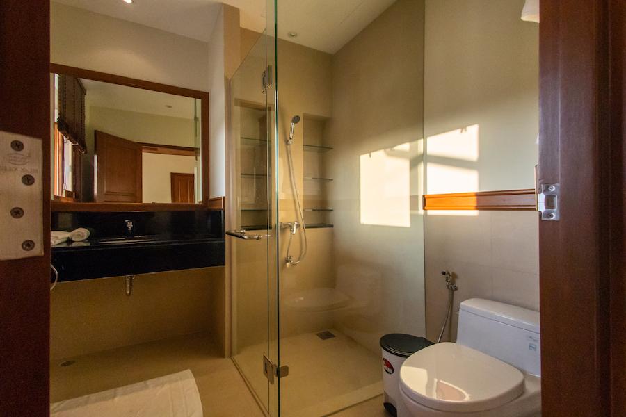 Ванная комната в спальне в Laguna Village