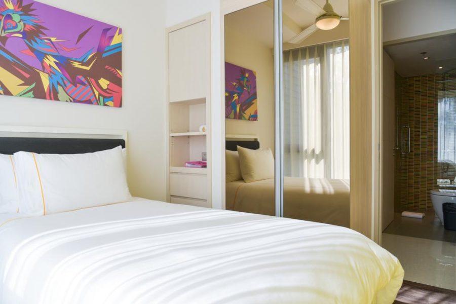 Вторая спальня Cassia Phuket