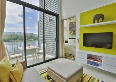 Апартаменты-лофт с одной спальней в отеле Cassia Phuket