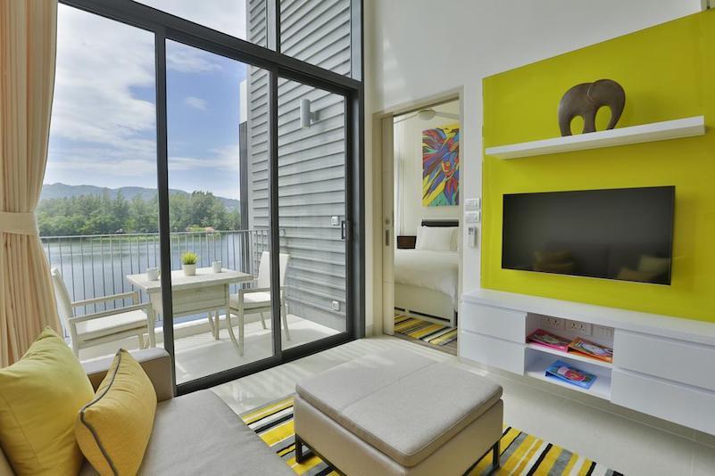 Апартаменты лофт в отеле Cassia Phuket