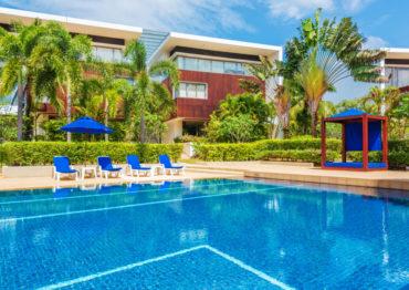 Апартаменты с 2 спальнями и просторной террасой в Lotus Gardens