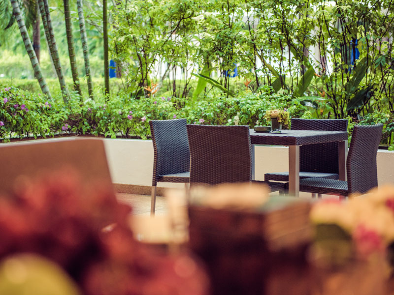 Балкон у апартаментов - Lotus Gardens Phuket