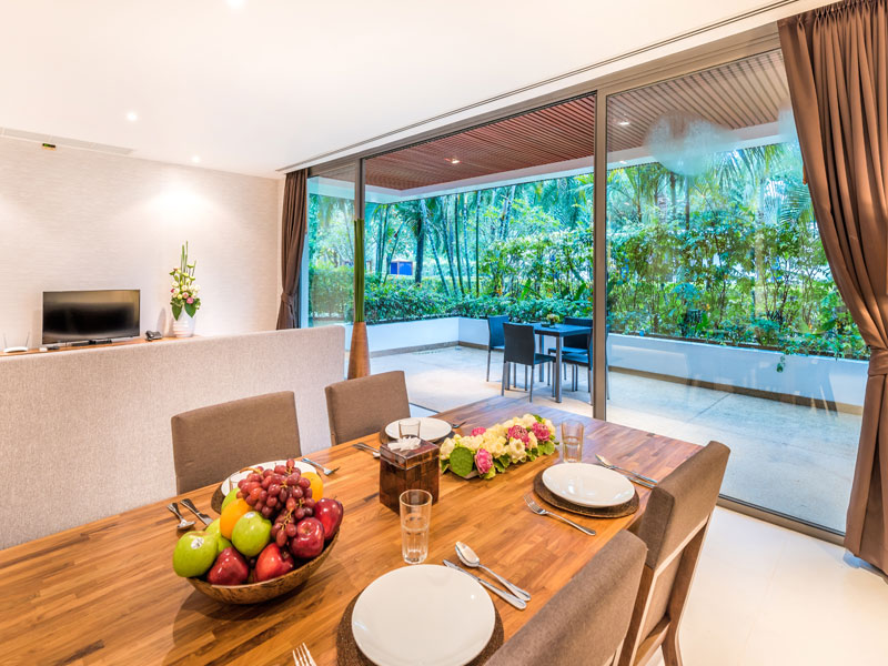 Столовая зона - Lotus Gardens Phuket