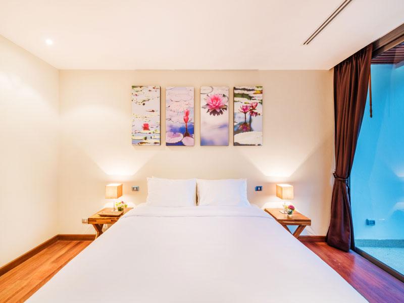 Спальная комната - Lotus Gardens Phuket