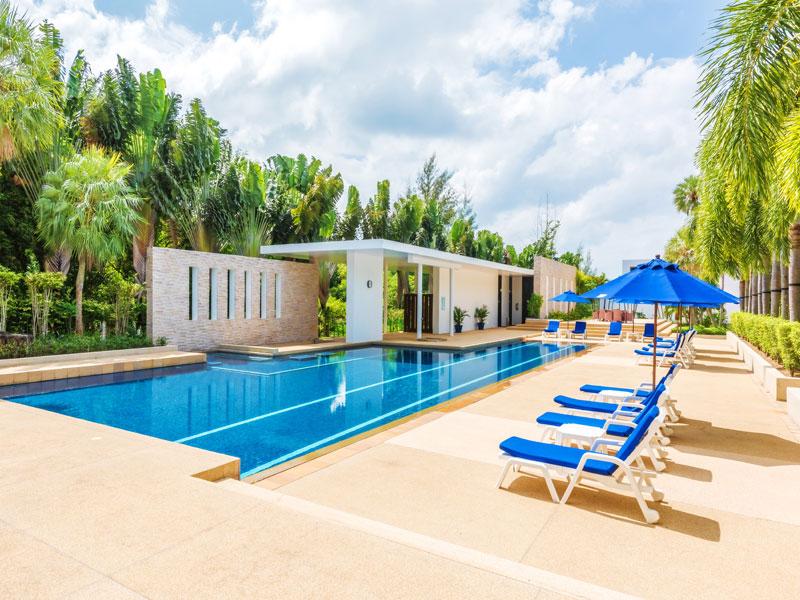 Общий бассейн - Lotus Gardens Phuket