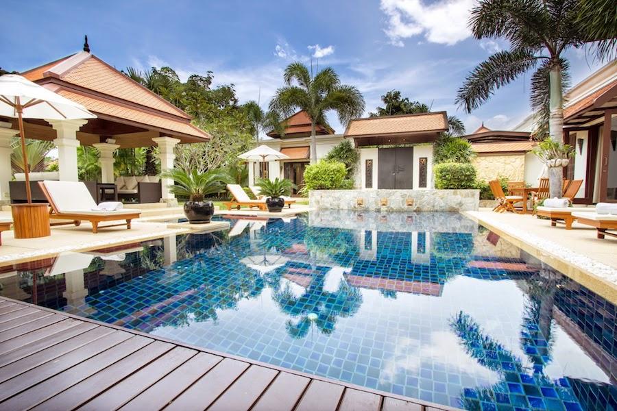Личный бассейн на вилле - Sai Taan Villas