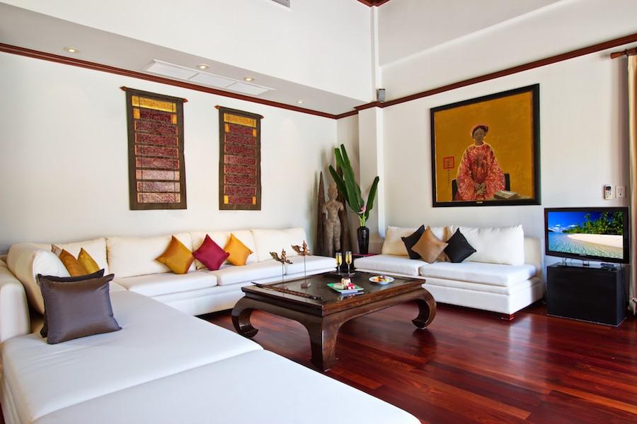 Гостиная со сводчатым потолком - Sai Taan
