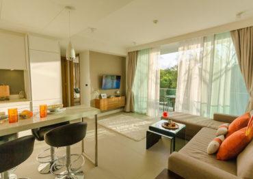 Угловые, светлые апартаменты с 2 спальнями - Oceanstone