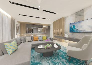 Шикарные двухспальные апартаменты в Bright Phuket