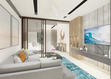 Односпальные апартаменты в Bright Phuket