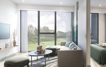 Апартаменты с 2 спальнями в Sky Park