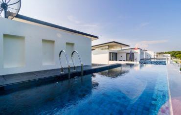 Вилла с бассейном на крыше для 8 человек (Laguna Park )