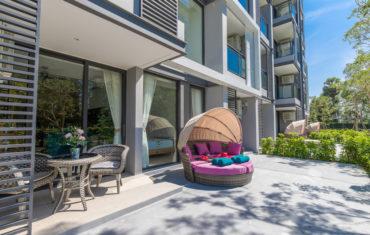 Апартаменты с 2 спальнями в Cassia Residences