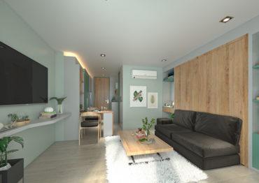 Уютная студия в Serene Condominium