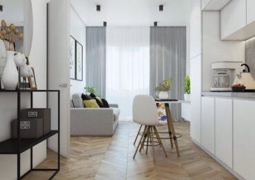 Апартаменты с 1 спальней в Layan Green Park