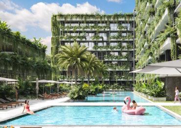 Двуспальные апартаменты в Layan Green Park