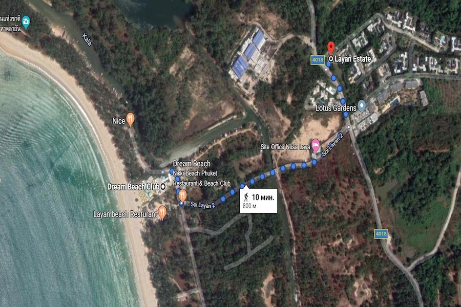 Layan Estate - 800 метров до пляжа