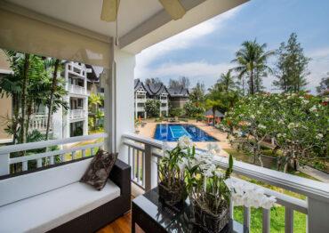 Уютные апартаменты с 1 спальней в отеле Allamanda