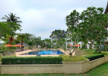 Апартаменты на 1 этаже в отеле Allamanda