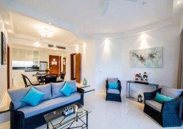 Апартаменты в 500 метрах от моря в отеле Allamanda