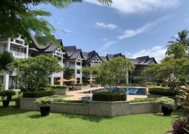 Апартаменты с собственной террасой и 1 спальней в отеле Allamanda