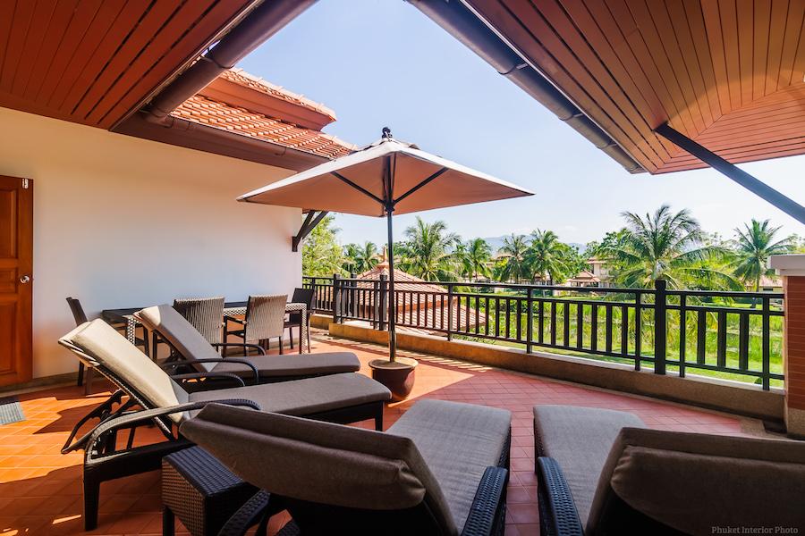 Терраса в резиденции в Laguna Village