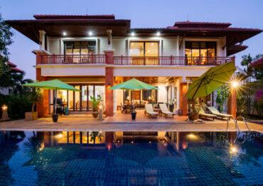 Комфортабельная резиденция с 4 спальнями в Laguna Village