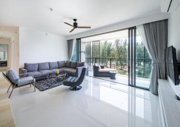 Апартаменты с 3 спальнями в 200 метрах от моря в Cassia Residences