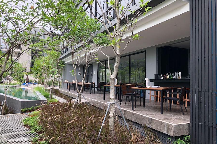 Ресторан в комплексе The Woods Natural Park