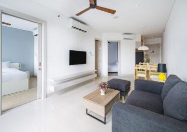 Апартаменты с 2 спальнями в 2 минутах ходьбы от моря в Cassia Residences