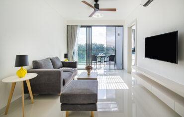 Апартаменты с 2 спальнями в 200 метрах от моря в Cassia Residences