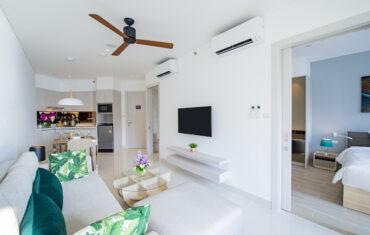 Апартаменты с 1 спальней в 2 минутах ходьбы от моря в Cassia Residences